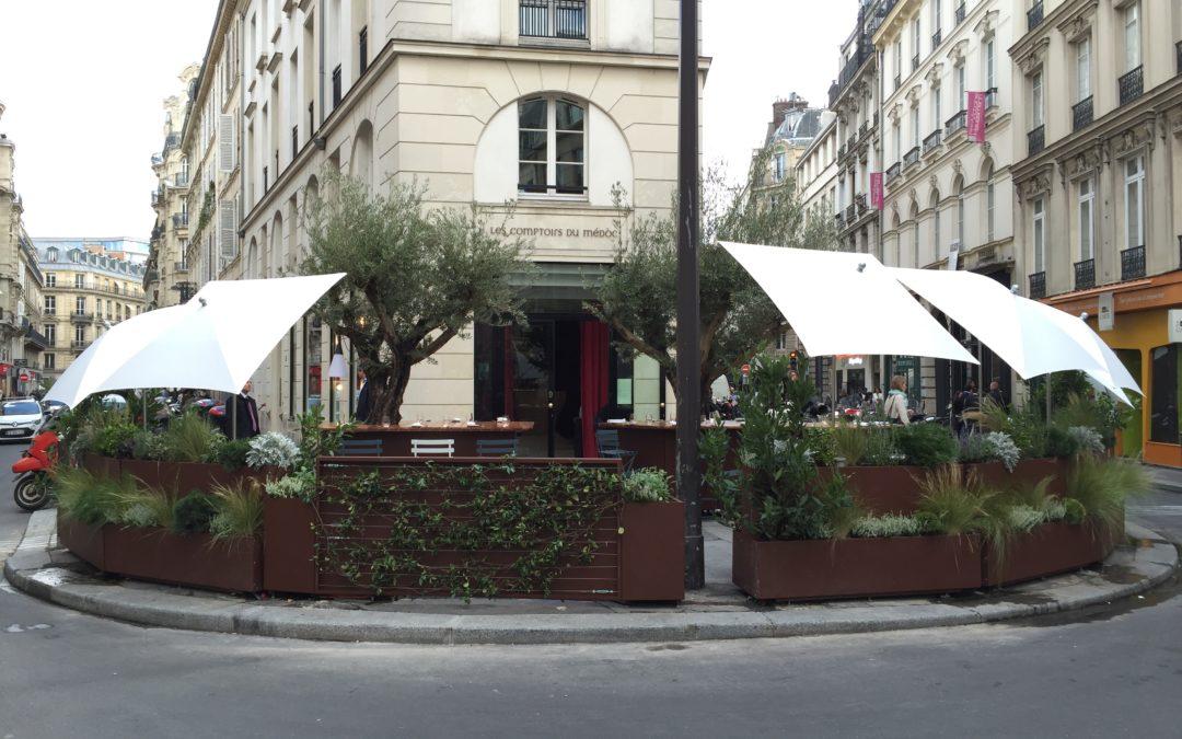 Terrasse Restaurant Paris