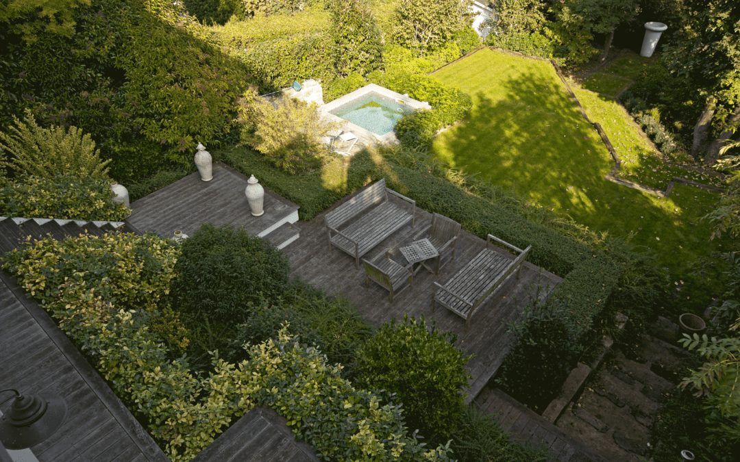 Jardin style année 30 à Meudon